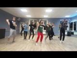 Ученики танцевальной студии