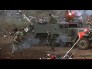 Провал во времени (1979). Решающее сражение между отрядом японских солдат из будущего и самураями