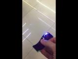 Спиннер с зажигалкой и подсветкой, с USB зарядкой