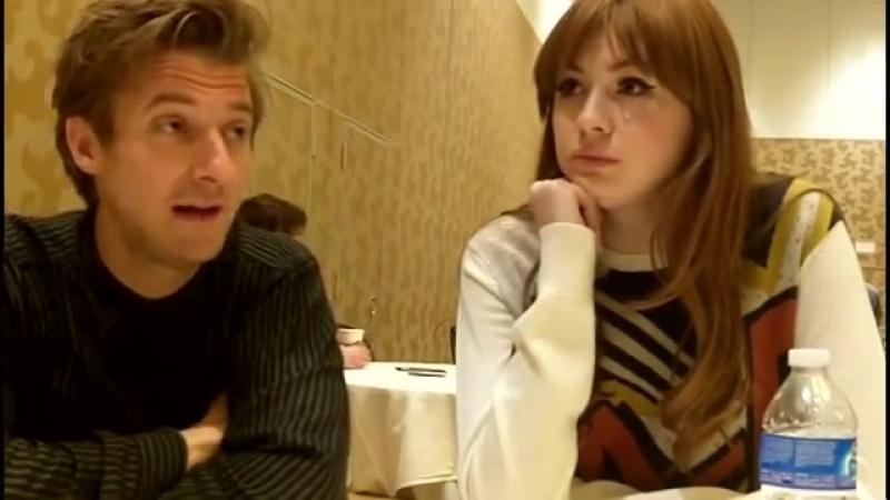 Comic-Con 2012: Мэтт Смит дразнит прощанием Пондов, а Карен Гиллан и Артур Дарвилл обсуждают любимые эпизоды