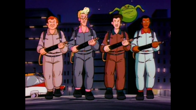Настоящие охотники за привидениями The Real Ghostbusters 102 - Killerwatt