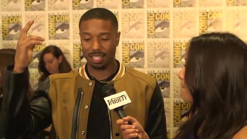 'Black Panther:' Michael B. Jordon on Working with Ryan Coogler