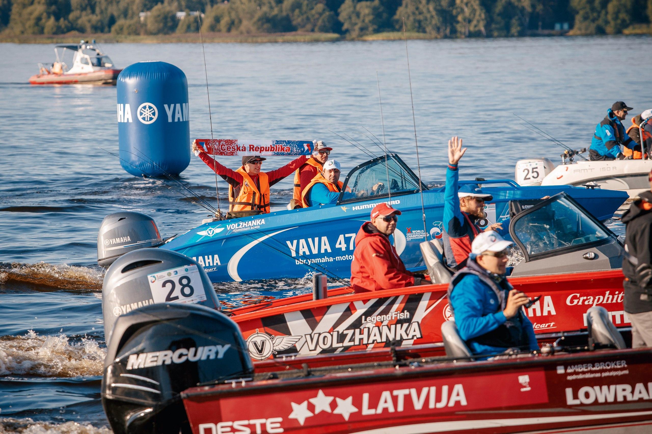 Фотоотчет с Чемпионата мира по ловле спиннингом с лодок