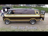 The Jive Turkey - Custom 1976 Dodge Van