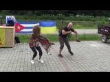 Rumba Guaguanco con Annelys Perrez y Daniel Carol - Agua Blanca Salsa Festival