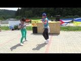 MK Bachata Footwork Battle - Alex &amp Valeri Orischenko - Agua Blanca Salsa Festival