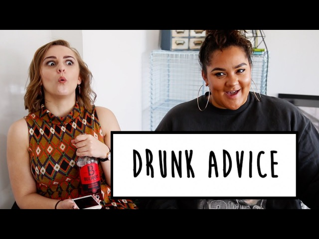 DRUNK ADVICE WITH GRACE VICTORY | Hannah Witton