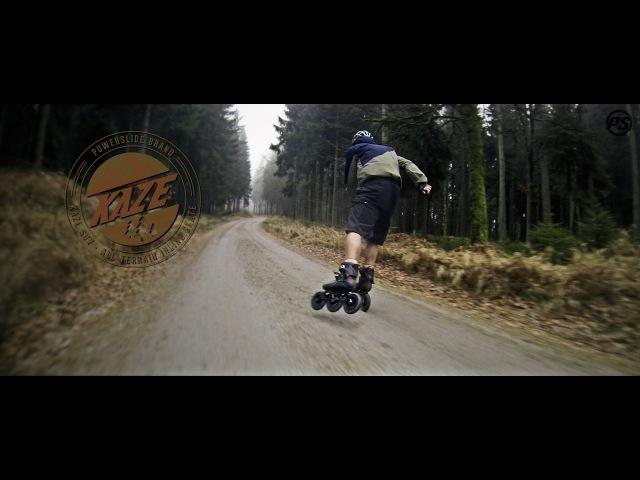 Ochsenkopf Mountain Skating on Powerslide KAZE SUV 150 Off-road Triskates - Powerslide Inline Skates