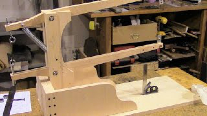 Assemble A Drill Powered Scroll Saw, Part 2 - Saw Arm Assembly