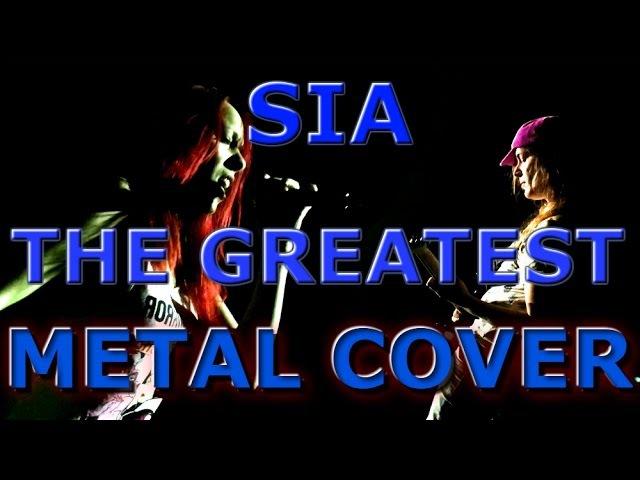 Sia - The Greatest | Metal cover by Dori Kreisz Peter Suba [60fps]