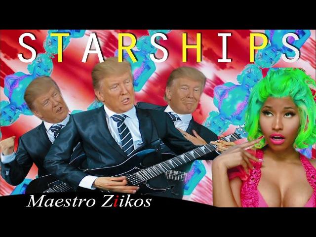 Donald Trump Singing Starships by Nicki Minaj