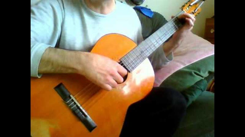 Za stracone dni - gitara klasyczna - muz. sł. wyk. JCH