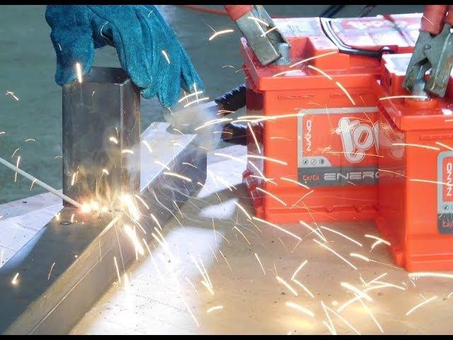 Сварка деталей с помощью аккумуляторов Topla Energy