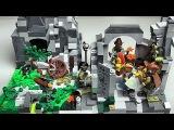 LEGO КОРОЛЕВСТВО часть 1. Заброшенная шахта и Аванпост Рыцари. Строим из ЛЕГО Конст...