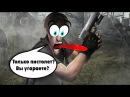 Cтрим по Resident Evil 4 (только нож и пистолет) 13 - ВСЕГДА НА ШАГ ВПЕРЕДИ