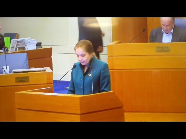 Депутат Мосгордумы Елена Шувалова выступила против нарушения прав москвичей