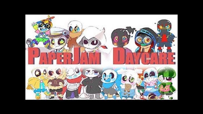 PaperJam` Daycare - Целый Комикс RUS