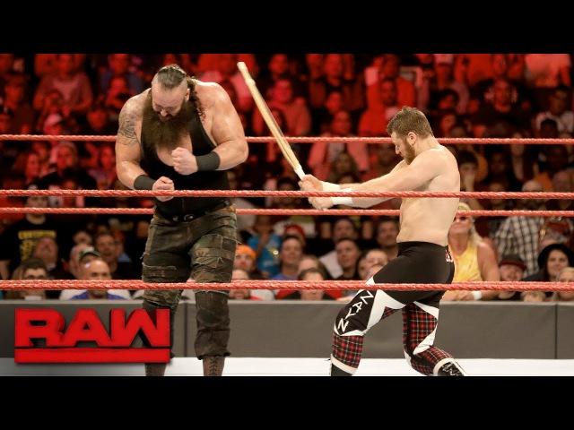 [WBSOFG] Sami Zayn vs. Braun Strowman - Last Man Standing Match: Raw, Jan. 2, 2017