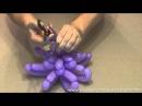 Хризантема из шаров s160 Chrysanthemum of balloons s160