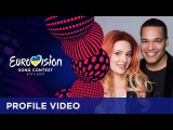 Profile Video Meet Valentina Monetta &amp Jimmy Wilson from San Marino