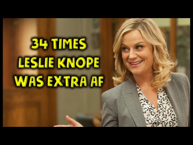 34 Times Leslie Knope From