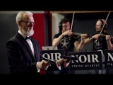 Classical Music Russian shooter performs Strauss with Guns