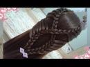 Peinados recogidos faciles para cabello largo bonitos y rapidos con trenzas para niña para fiestas54