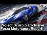 [4K] Project Scorpio: Forza/Turn 10 Report + Analysis!