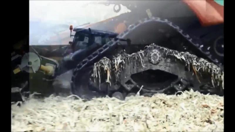 Гусеничный ход для комбайнов и тракторов Poluzzi!
