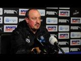 Benítez's pre-Wigan media briefing