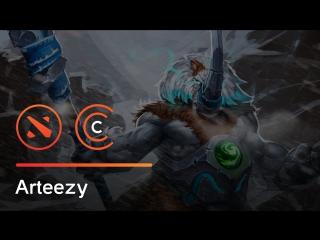 Arteezy отвозит на скалу двоих противников