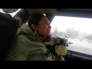 Автокараоке в свадебный букет