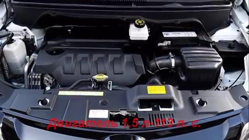 Weichai Enranger G5 новый китайский компактвэн мини-MPV, обзор, цены, характерис