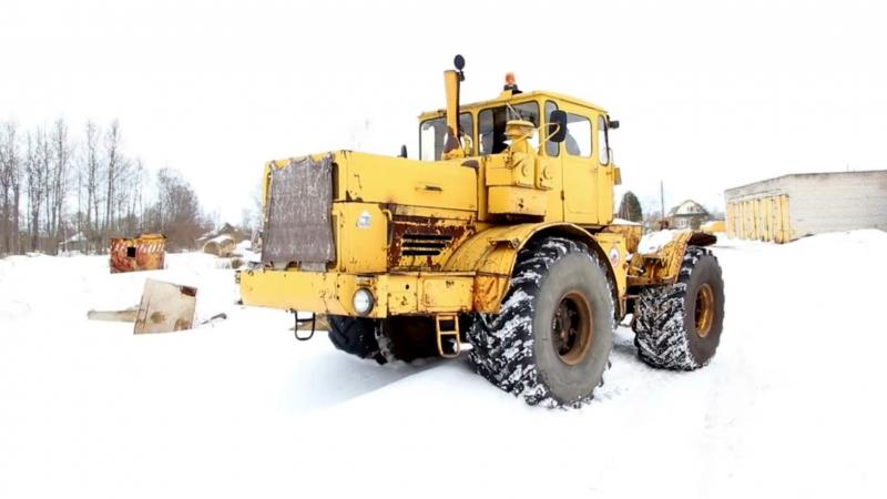 Тест-драйв Трактор К-701