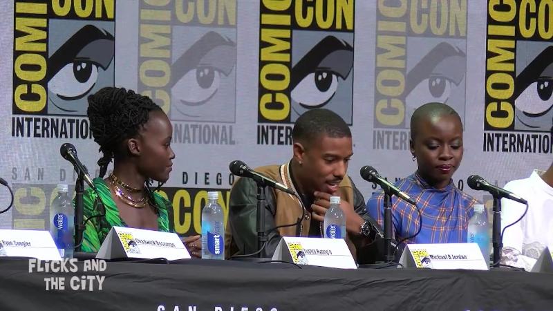 Comic Con 2017 в Сан-Диего презентация Черная пантера / BLACK PANTHER Comic Con Panel News Highlights