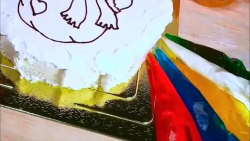 Торт раскраска !