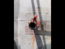 Газогенератор в работе