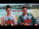 YEAH or NAH with Zac Efron  Alexandra Daddario from Baywatch