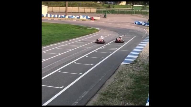 Хорошенько погоняли на @ mayak_karting и выгуляли клубную Ferrari F430 Scuderia после замены катализаторов 🚗💨💨💨 ferrari ferrar