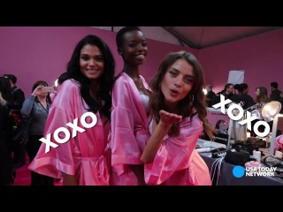What backstage at the Victoria's Secret show is really like
