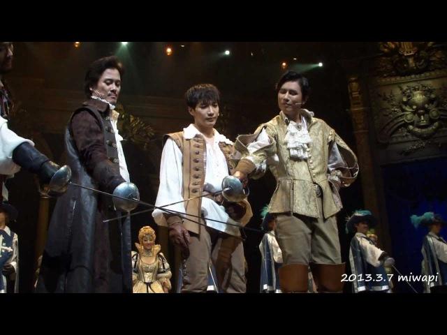 【HD】2PM Jun.K 130307 16:00 三銃士Musical