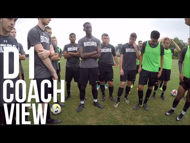 Inside Preseason - Coaches Perspective - Division 1 Men's Soccer