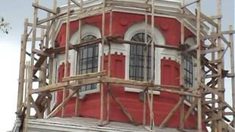 Стройка храма в Николаевке