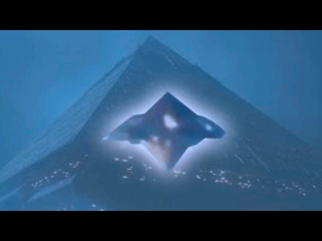 Они прилетели снова Гигантское НЛО пирамида над Москвой 2017