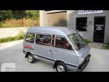 1983 Subaru Sambar Try 4WD Kei Mini Van ULTRA CLEAN