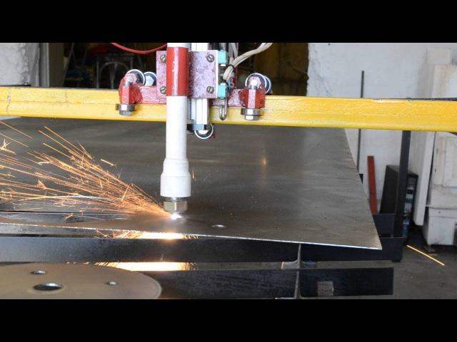 ЧПУ плазменная резка металла сделать своими руками чертежи