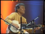Masters together Amjad Ali Khan and Zakir Hussain