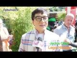 Jackie Chan @ 'The LEGO Ninjago movie' green carpet