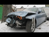 Ремонт BMW 3 series после ДТП исправление кузова и минимум покраски
