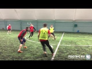 FOOTBIC.RU. Видеообзор 3.02.2017 (Метро Марьина Роща). Любительский футбол